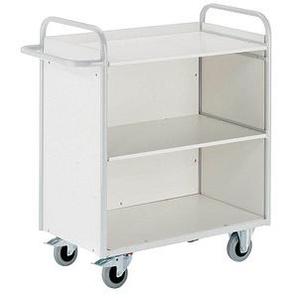 Rollcart Etagenwagen grau 100,0 x 50,0 cm bis 150,0 kg