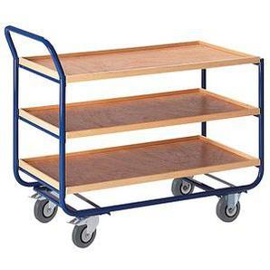 Rollcart Tischwagen blau 100,0 x 57,5 cm bis 150,0 kg