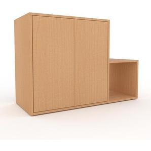 Rollcontainer Buche - Moderner Rollcontainer: Türen in Buche - 116 x 80 x 47 cm, konfigurierbar
