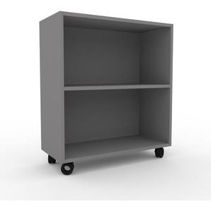 Rollcontainer Grau - Moderner Rollcontainer: Hochwertige Qualität, einzigartiges Design - 77 x 87 x 35 cm, konfigurierbar