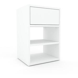 Rollcontainer Weiß - Moderner Rollcontainer: Schubladen in Weiß - 41 x 61 x 35 cm, konfigurierbar