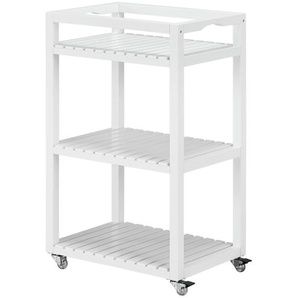 Rollwagen  Latiano | weiß | 33 cm | 76 cm | 47 cm |