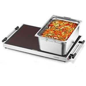 ROMMELSBACHER WPR 405/E - WARMHALTEPLATTE  Gastro  EDELSTAHL - 400 Watt - Edelstahl
