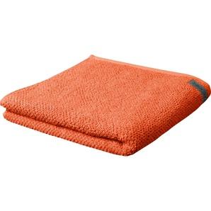 ROSS Gästehandtuch Selection, (6 St.), mit Velourslabel B/L: 30 cm x 50 St.) orange Gästehandtücher Handtücher Badetücher