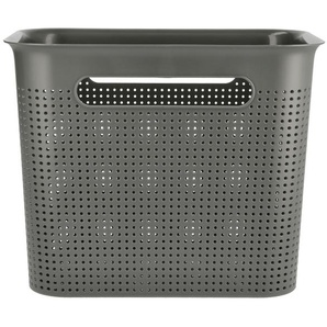Rotho Aufbewahrungsbox ¦ grau ¦ Kunststoff ¦ Maße (cm): B: 26 H: 21 T: 18 Aufbewahrung  Aufbewahrungsboxen  sonstige Aufbewahrungsmittel - Höffner