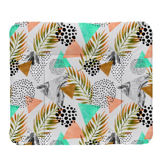 Rotho Babydesign Wickelauflage Modern Paradise, Made in Europe B/L: 85 cm x 72 bunt Baby Wickelauflagen wickeln