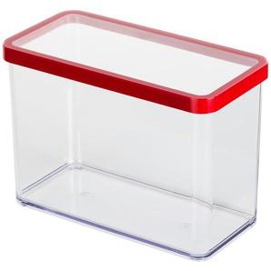 Rotho Dose rechteckig 2,1 l  Loft - transparent/klar - Kunststoff - 10 cm - 14,2 cm | Möbel Kraft
