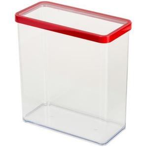 Rotho Dose rechteckig 3,2 l  Loft - transparent/klar - Kunststoff - 10 cm - 21,4 cm | Möbel Kraft