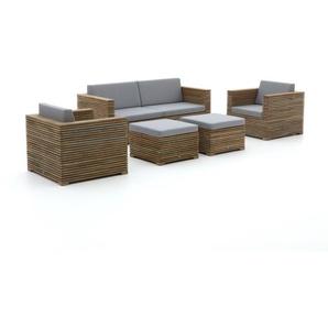 ROUGH-C Sessel-Sofa Lounge-Set 5-teilig