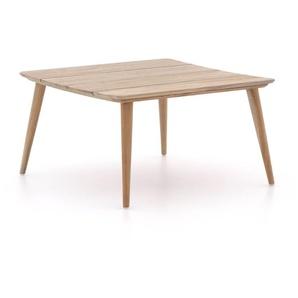 ROUGH-K Loungetisch 80x80x45 cm