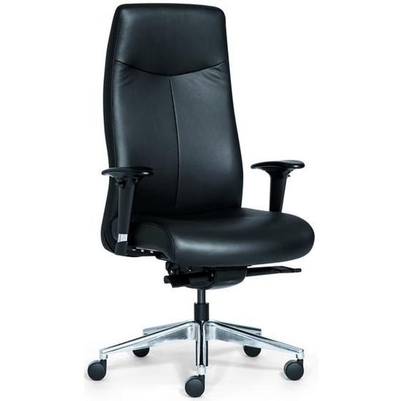 ROVO XL - Luxus Chefsessel Schwarz echtes Leder mit hoch Rovo Chair Leder