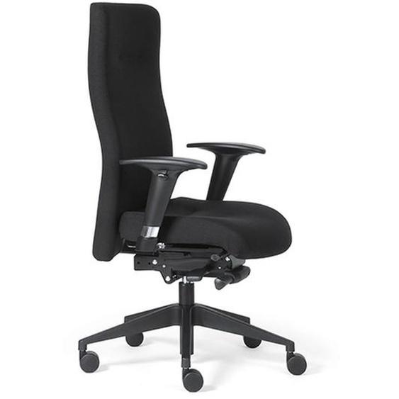 ROVO XP - Luxus Chefsessel Schwarz mit Stoff hoch Rovo Chair