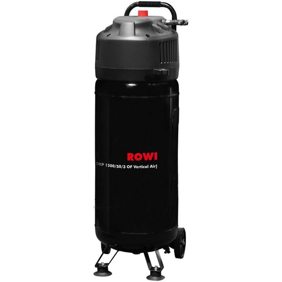 ROWI Kompressor »DKP 1500/50/3 OF Vertical Air«, 1500 W, 50 l Kessel