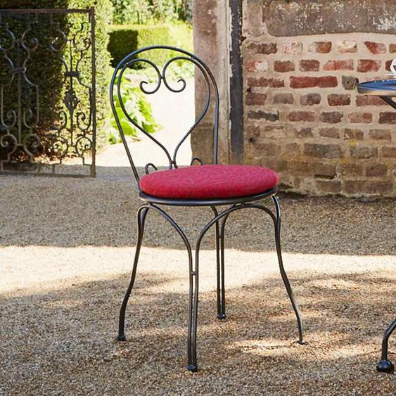 Royal Garden Sitzkissen Ø40cm zu Stapelsessel Caffeo Rot