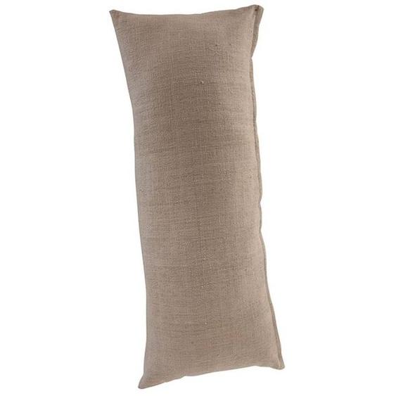 Rückenkissen Leinenoptik - bunt - Oberstoff. 100 % Baumwolle, Polyesterfüllung - Zierkissen & Polsterrollen  Zierkissen