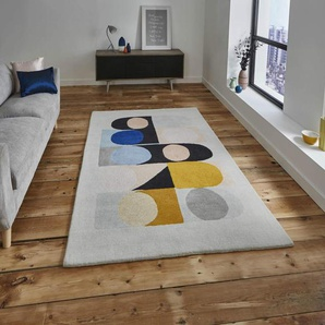 Rugs Direct Teppich, Wolle, Mehrfarbig, 120 x 170 cm