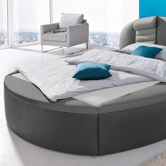 Rundbett, H2, grau, Westfalia Schlafkomfort mit Bettkasten