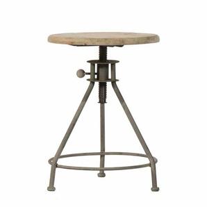 Runder Sitzhocker für Küche höhenverstellbar