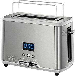 Toaster, silber, RUSSELL HOBBS