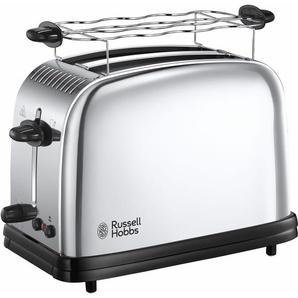 RUSSELL HOBBS Toaster Victory 23310-56, 2 kurze Schlitze, für Scheiben, 1670 W Einheitsgröße silberfarben Haushaltsgeräte