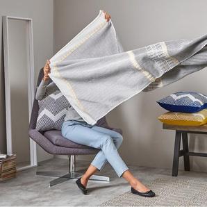 Ryker Decke (130 x 170 cm), Grau und Mehrfarbig