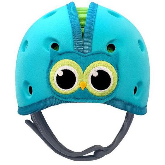 SafeHeadBaby Babyhelm »Eule«, mit V-Kinngurt, ultraleicht, max. Schutz