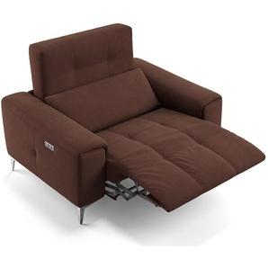 SALENTO 2-Sitzer Designer Sofa Stoffcouch Relaxsofa