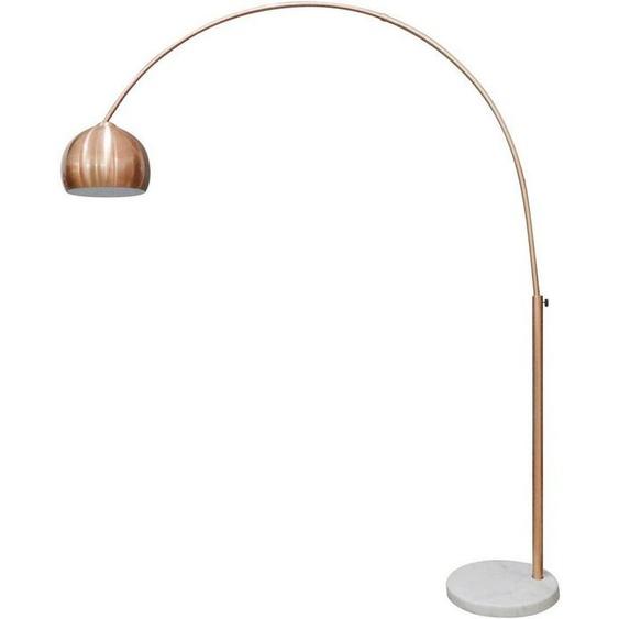 SalesFever Bogenlampe »Clara«, Fuß aus Marmor