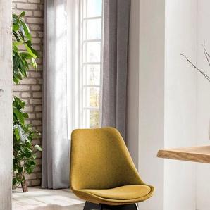 SalesFever Esszimmerstuhl (Set, 2 Stück), mit Wabensteppung auf der Rückseite