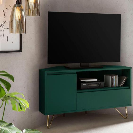 SalesFever TV-Board, Push to Open Funktion, Klappendämpfer, mit Kabeldurchführung