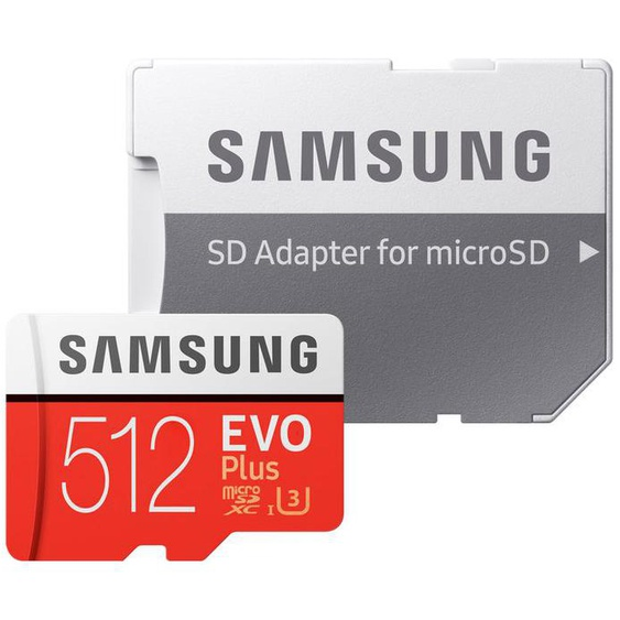 SAMSUNG Micro SD Karte EVO Plus 2020 512GB