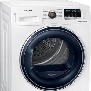 Wärmepumpentrockner DV81M50103W/EG, weiß, Energieeffizienzklasse: A++, Samsung