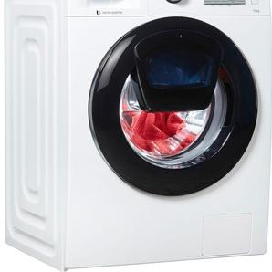 Waschmaschine AddWash W4500 WW7EK44205W/EG, Fassungsvermögen: 7 kg, weiß, Energieeffizienzklasse: A+++, Samsung