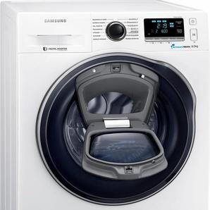 Waschmaschine AddWash WW6400 WW8GK6400QW/EG, Fassungsvermögen: 8 kg, weiß, Energieeffizienzklasse: A+++, Samsung
