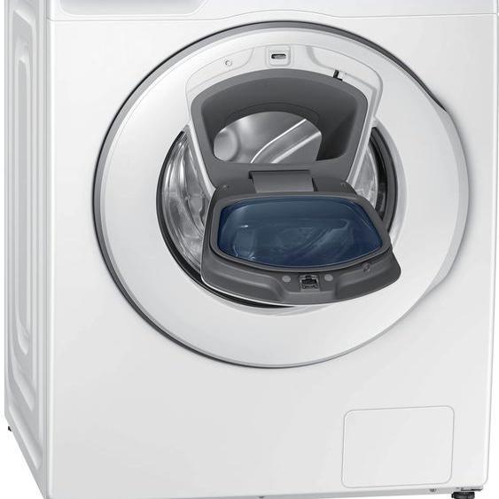 Samsung Waschmaschine WW81T684AHH/S2, 8 kg, 1400 U/min B (A bis G) Einheitsgröße weiß Waschmaschinen Haushaltsgeräte