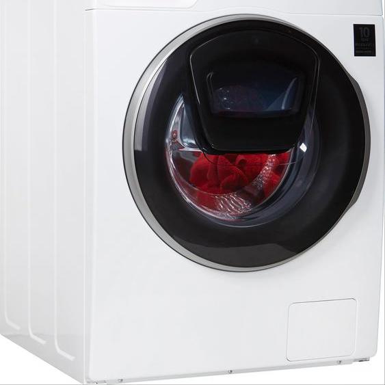 Samsung Waschmaschine WW91T986ASH/S2, WW9800T, WW91T986ASH, 9 kg, 1600 U/min A (A bis G) Einheitsgröße weiß Waschmaschinen Haushaltsgeräte