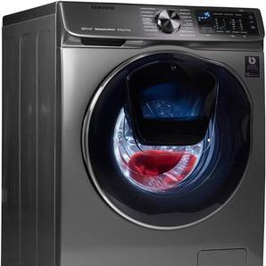 Waschtrockner QuickDrive WD6800 WD80N642OOX/EG, silber, Energieeffizienzklasse: A, Samsung