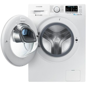 Samsung Waschvollautomat  WW-80k5400WW/EG ¦ weiß ¦ Metall, Kunststoff ¦ Maße (cm): B: 60 H: 85 T: 55 Elektrogeräte  Waschmaschinen » Höffner