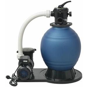 Sandfilterpumpe 1000 W 16.800 L/h XL - VIDAXL