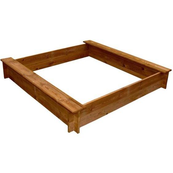 Sandkasten Holz Quadratisch