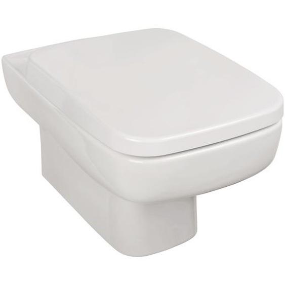 Sanitop-Wingenroth Wand-WC Cubo 2.0 weiß 34 x 34,5 x 54,5 cm, inkl. WC-Sitz