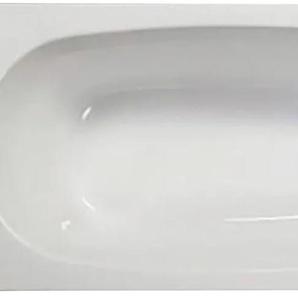 Sanotechnik Badewanne Linea, 170/75 cm weiss, inkl Frontschürze Einheitsgröße weiß Badewannen Whirlpools Bad Sanitär