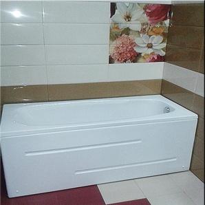Sanotechnik Badewanne Marbella, 181 / 80 weiss, inkl Frontschürze Einheitsgröße weiß Badewannen Whirlpools Bad Sanitär