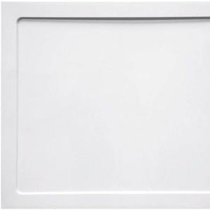 Duschwanne »SMC«, 100 x 80 x 3,5 cm, eckig