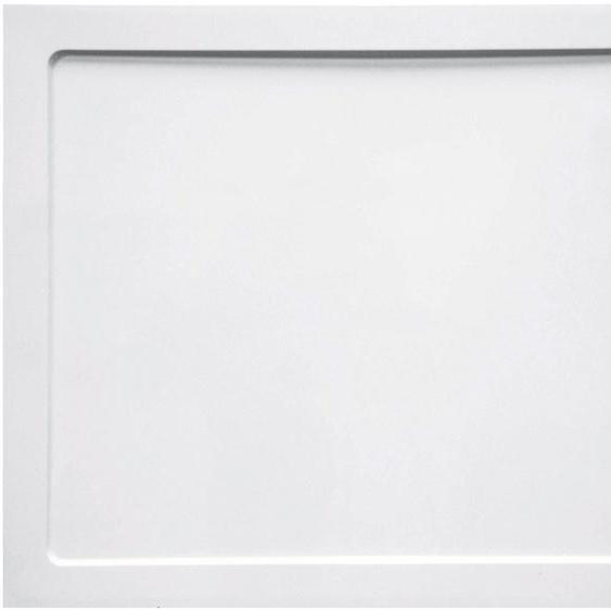 Sanotechnik Duschwanne »SMC«, rechteckig, Kunststoff, eckig, BxT: 100 x 80 cm