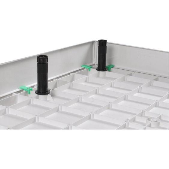 Sanotechnik Duschwannenfüße »SMC«, (Set, 15-St), belastbar bis 150 kg, Montage durch einfaches Steckprinzip, Höhenverstellbar von 9 bis 12 cm