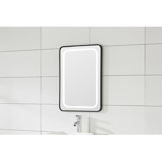 Sanotechnik Spiegel 60 cm Soho mit LED-Beleuchtung Schwarz EEK: A-A++