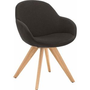 NIEHOFF SITZMÖBEL Schalen-Sessel »Coppa« grau, ohne Drehfunktion
