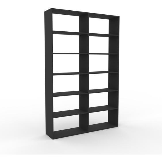 Schallplattenregal Graphitgrau - Modernes Regal für Schallplatten: Hochwertige Qualität, einzigartiges Design - 152 x 233 x 35 cm, Selbst designen