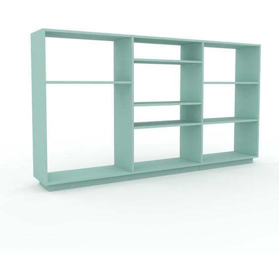 Schallplattenregal Mint - Modernes Regal für Schallplatten: Hochwertige Qualität, einzigartiges Design - 226 x 124 x 35 cm, Selbst designen